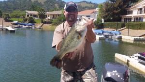 Clearlake, Big Bass, Bed Fishing
