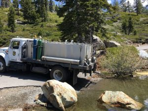 DFG planting truck